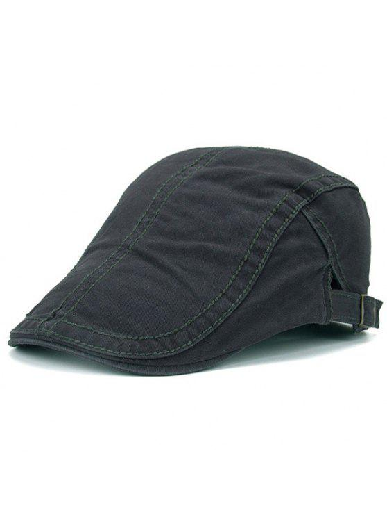 2019 UV Protection Jeff Cap With Sewing Thread In DEEP GRAY  f4eb2ed5d6e