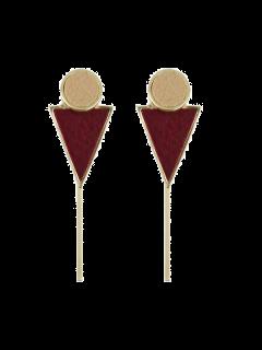 Los Pendientes Del Triángulo Bar Círculo - Vino Rojo