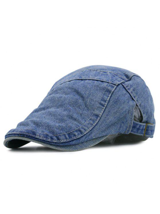 تقسم ذكريات الماضي الدينيم موزع الصحف قبعة - متوسطة الأزرق