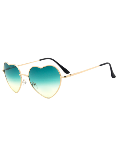 See Through Sunglasses Coeur Objectif -