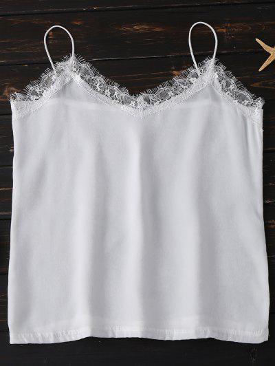 Lace Trim Cami Top