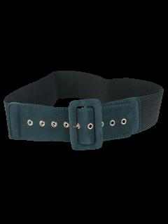 Cinturón Ancho Elástico Hebilla - Verde