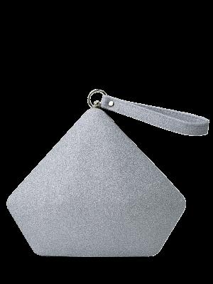 Glitter Geometric Sequin Evening Bag