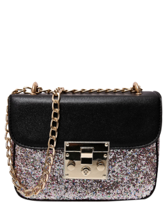 Panel De Lentejuelas Mini Cross Body Bag