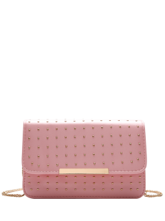 Cadenas Remache De La Aleta Cross Body Bag - Rosa