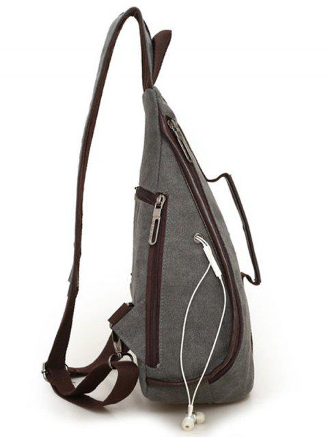 women Casual Multifunction Canvas Backpack -   Mobile