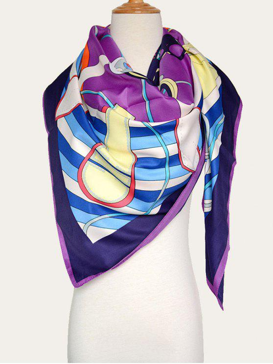 women Handbags Shawl Scarf - PURPLE