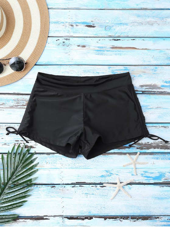 3190c9815dd8c 12% OFF  2019 Ruched Bikini Bottoms In BLACK M