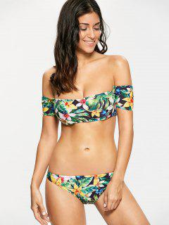 Floral Off The Shoulder Bikini - Floral S
