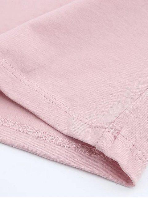 shop Short Sleeve Mock Neck Cropped Tee - JACINTH M Mobile