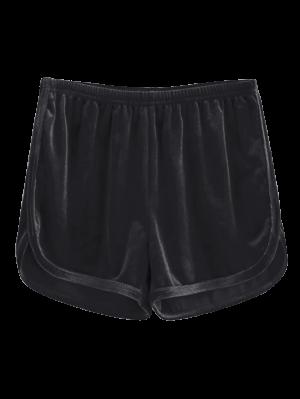 Sportliche Shorts aus Samt