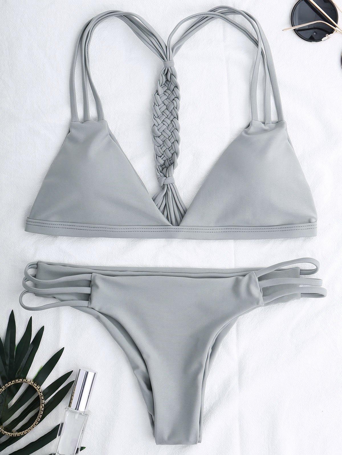 Cutout Strappy Bikini