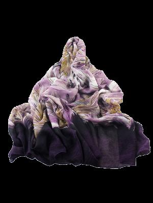 Resumen de Boho Impresión de línea bufanda del abrigo
