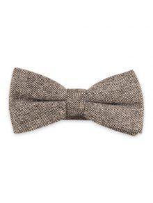 مزيج الصوف الرسمي ربطة عنق التعادل - رمادي