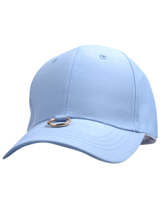 Metal Ring Embellished Baseball Cap - Cloudy