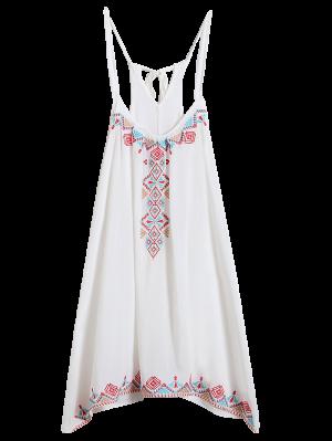 Spaghetti Strap Dress - White