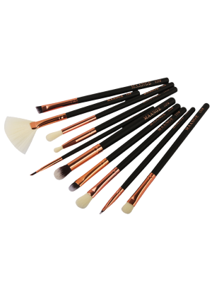 10 Pcs Eye Makeup Brushes Set