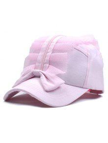 بونوت قبعة سستة البيسبول شبكة - زهري