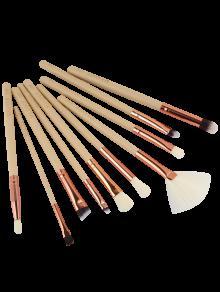 Conjunto De 10 Pinceles De Maquillaje - Tez