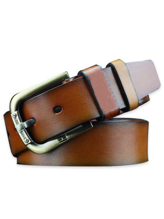 c378812c4770b 32% OFF  2019 Vintage Faux Leather Roller Buckle Belt In BROWN