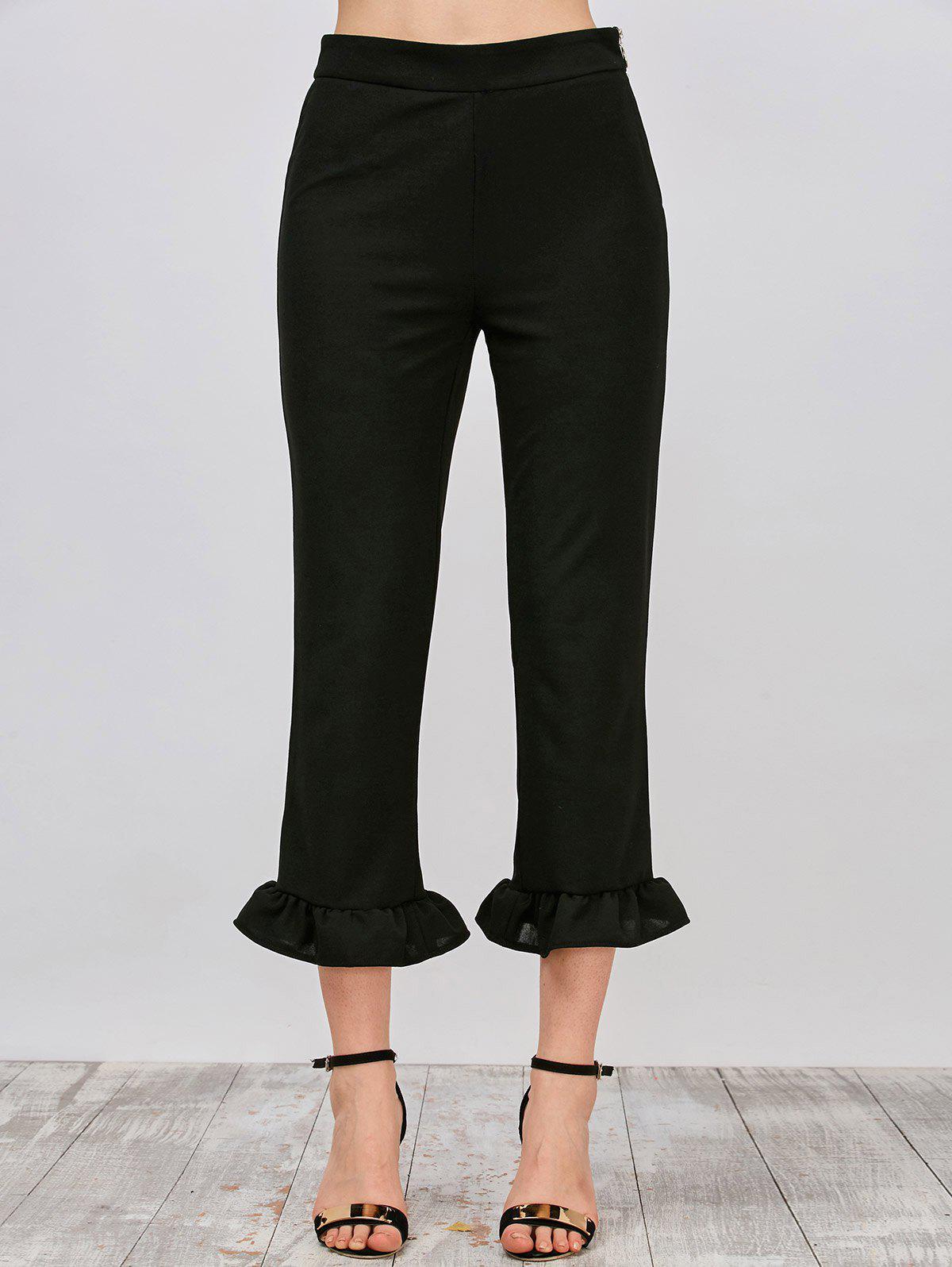 Pantalons pan plissé