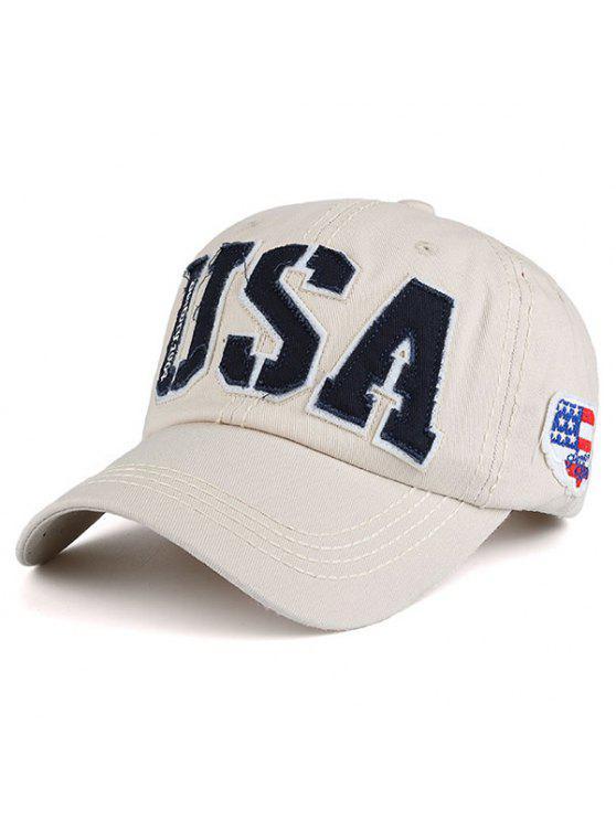 علم الولايات المتحدة الأمريكية خطابات مزين الساخن الحفر هات - الحلوى بيج