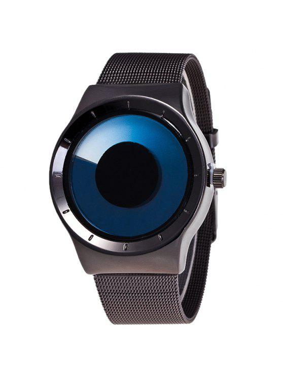 سبيكة حزام دوامة أومبير كوارتز ساعة - أزرق