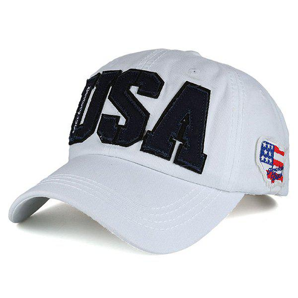 USA Flag Letters embellies Drilling Hot Hat