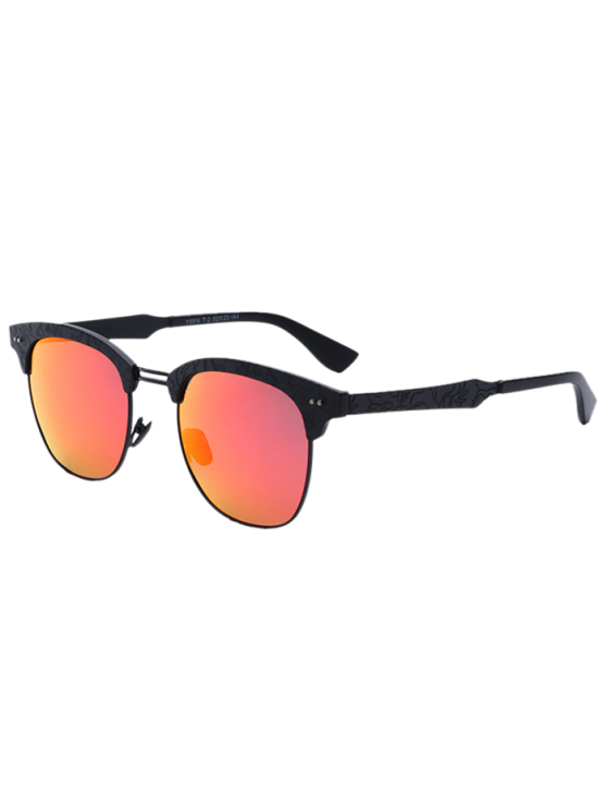 a2f26a1c5f 2019 Carve Leg Butterfly Mirrored Sunglasses In JACINTH