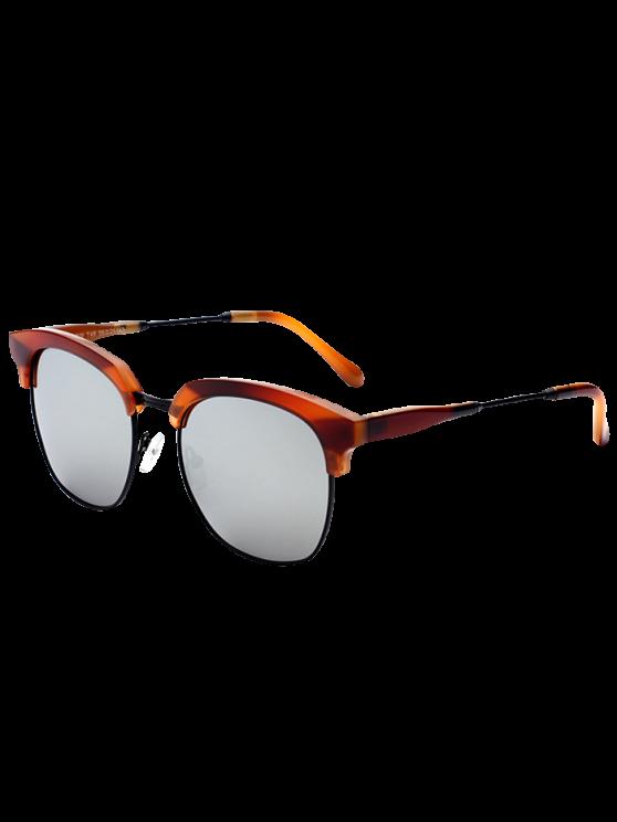 Panel metálico Club de las gafas de sol espejadas - Plata