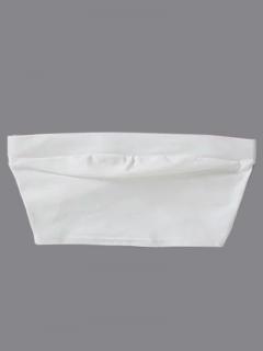 Tubo Superior Elástica - Blanco
