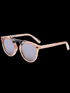Patrón De Mármol Con Espejo Gafas De Sol -