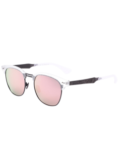 Carve Leg Butterfly Mirrored Sunglasses - Pink