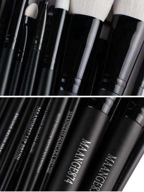 Maquillage Maange 22 Pcs Eye Pinceaux - Noir  Mobile