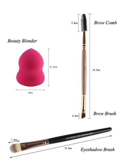 trendy Makeup Sponges + Eyeshadow Brushes + Eyebrow Brushes -   Mobile