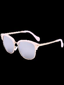 Buy Butterfly Mirrored Sunglasses - SILVER