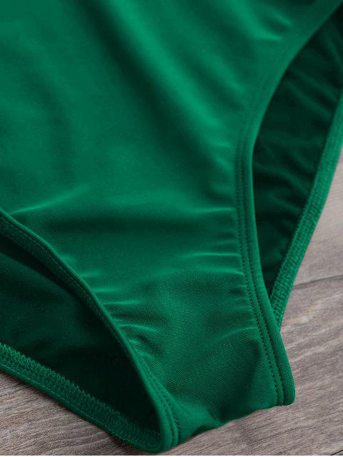 Maillots de Bain 1 Pièce Tanga Plongeant - Vert M Mobile