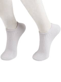 Knited Calcetines Rayados - Blanco