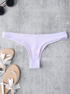 Tanga Bikini Bottoms - Morado Claro L