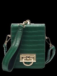 Sac En Bandoulière Mini Avec Des Détails Métalliques Et Bracelet - Vert