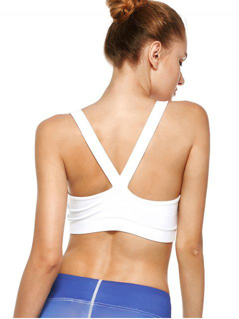 unique Pullover Sport Bra Sweat Top -   Mobile