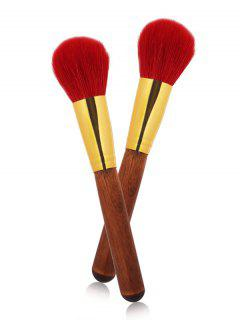 Multipurpose Ronda Powder Brush - Rojo