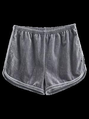 Shorts de sport en velours