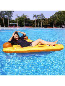 بيتزا شكل نفخ تعويم السباحة - اليوسفي
