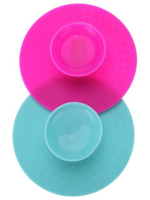 2 Pcs Pads de maquillage à nettoyer et essuyer - Multicouleur  Mobile