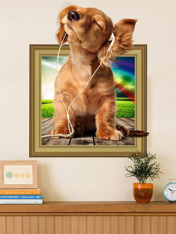 3D Dog Animal Wall Sticker For Kids Room 211152001