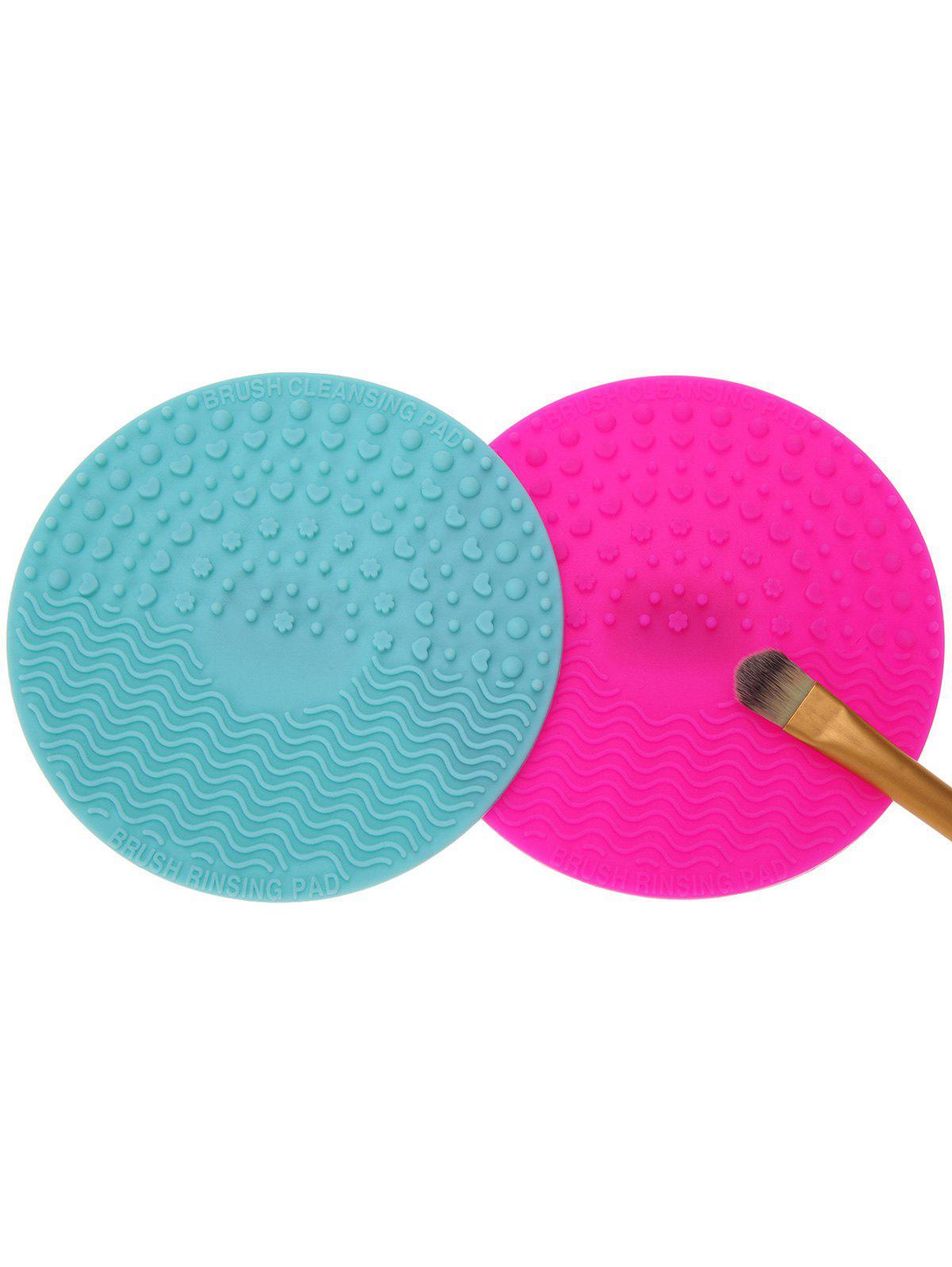 2 Pcs Makeup Brush Cleaning Pads