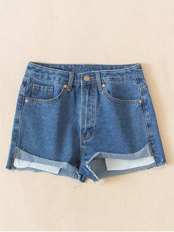 Cutoffs Pantalones cortos Denim - Azul Claro M