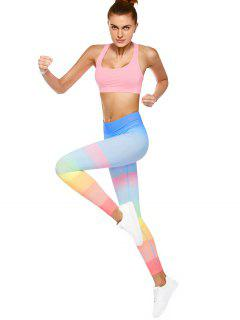 Ombre Dancing Leggings - Multicolor L