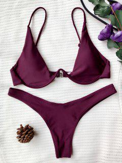 Push Up Tauchanzug - Merlot S